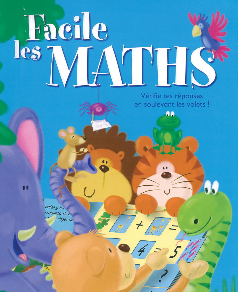 Facile, les maths - 9782842181673 - Millepages - couverture