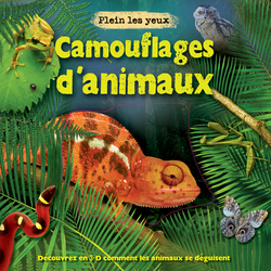 Camouflages d'animaux - 9782842182588 - Millepages - couverture