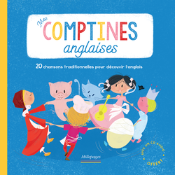 Mes comptines anglaises (Livre-CD) - 9782842183981 - Millepages - couverture