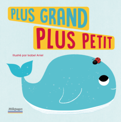 Plus grand plus petit - 9782842184117 - Millepages - couverture
