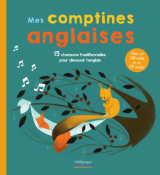 Mes comptines anglaises (le livre + la version audio) - 9782842184841 - Millepages - couverture